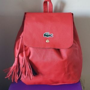 Other - Red mini back pack
